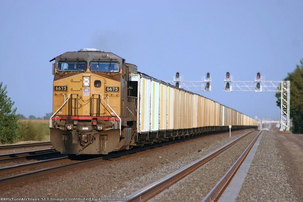 DPU on an eastbound coal train on main #3