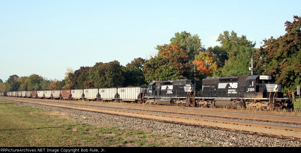 Coal train at Cresson