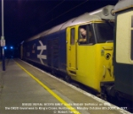 55022 'ROYAL SCOTS GREY' leads 50049 'Defiance' on 1Z55, the 0820 Inverness - King's Cross.