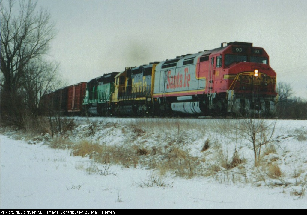 ATSF 93 North