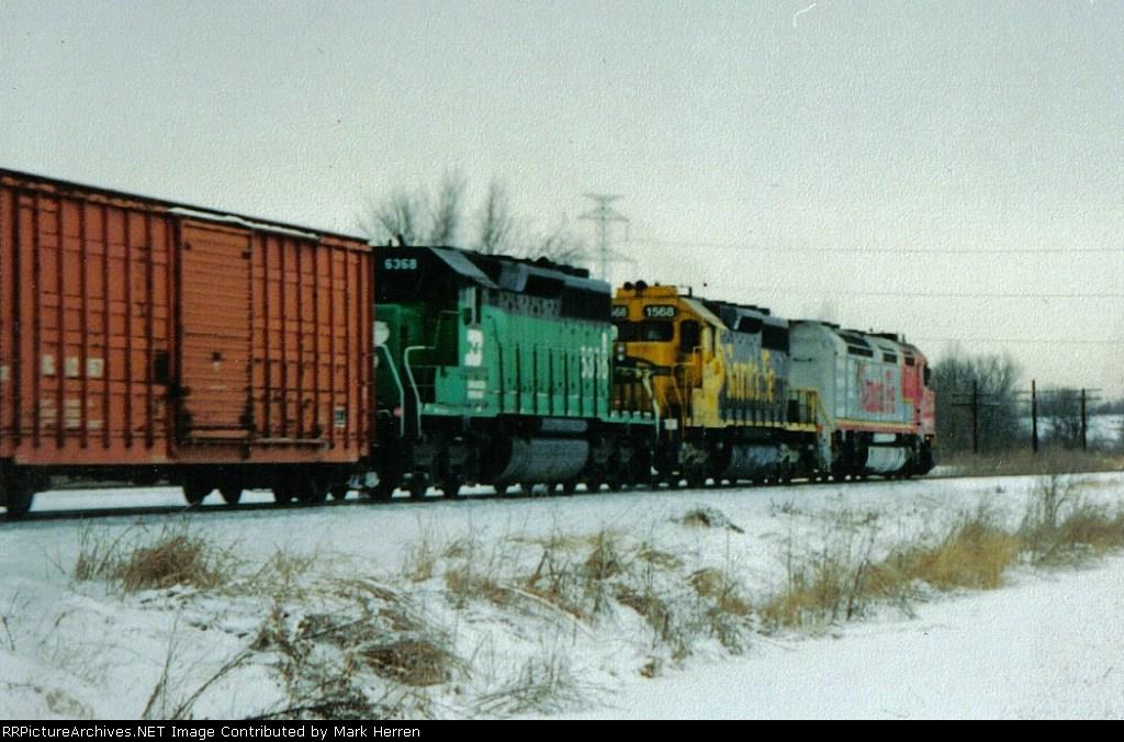 SD39 & SD40-2