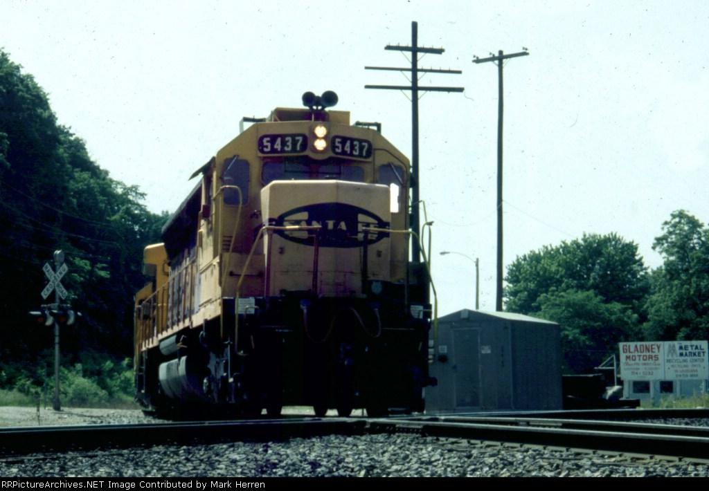 ATSF 5437 East