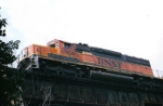 BNSF 6804 in the Sky