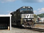 NS 7213 Bring Some Coal Back With It and Passing the PRR Underpass