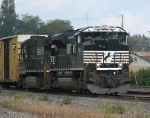 An NS SD70M-2 Leads a Westbound Manafest