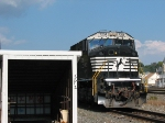 NS 7201 Comes Out of the Engine House