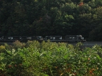 The NS Coal Drag the Stoped at Cresson Meets Us at Horseshoe Curve, Helpers and All