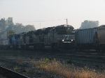 An SD70M-2 Leads Another Westbound Intermodel