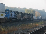 2 SD70M-2's, an SD70, and a Conrail Dash 8-40CW Starts the Morning off Right