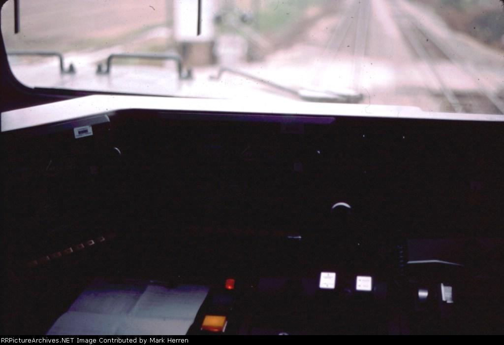 Inside BNSF 4890