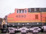 Cab Shot of BNSF 4890