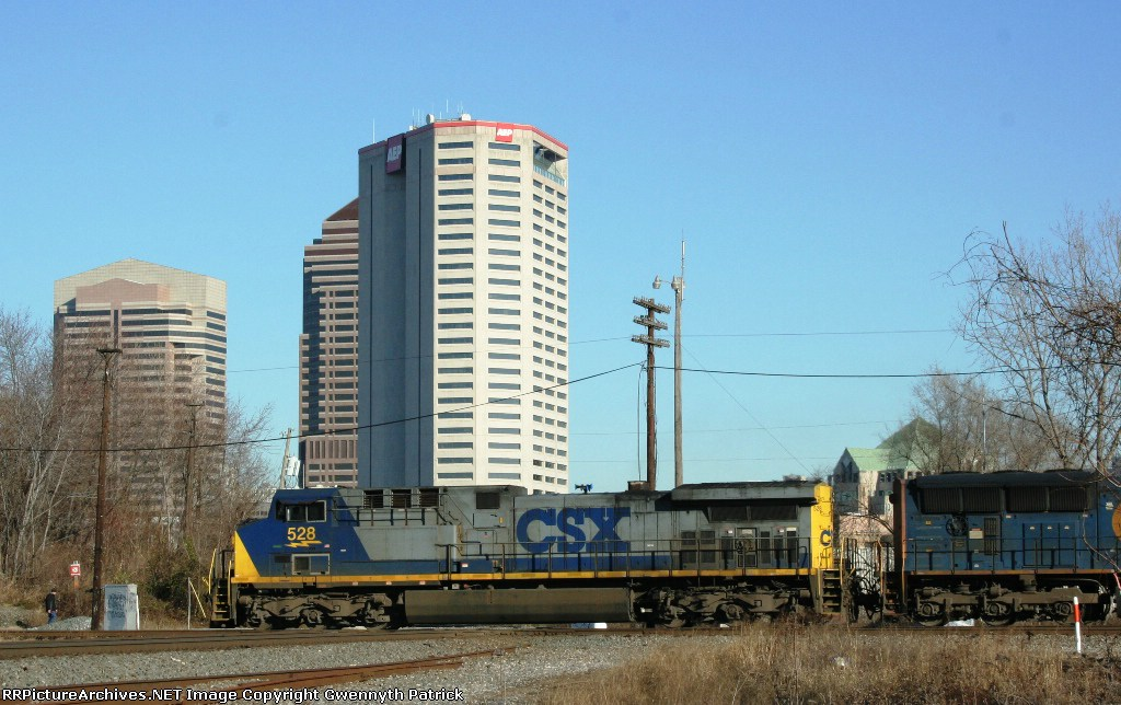 CSX WB at LM Cabin