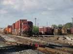 X500 and Q326 wait in the yard