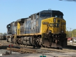 CSX 491 & 4536 heading for the house