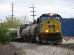 CSX 4558 slowly rolling along with Q335-11