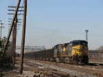 CSX 169 & 236 pulling N901 through the yard on 2 Track