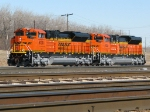 New BNSF SD70ACes