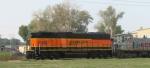 BNSF 332 Freshly Painted