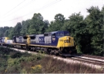 CSX 7707 with slug