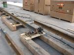 080613049 Temporary rail-welding job-site on 6th Ave No. for Hiawatha Light Rail extension onto 5th Street bridge
