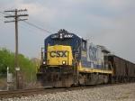 CSX Work Train Returns