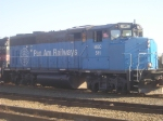 Pan Am rail #511 in the first livery.