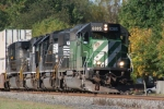 Close-Up of BNSF 6385