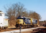 CSX 6914 and a RMDT switching the athens yard