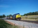 CSX 454 and consist southbound