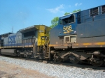 CSX 7786 & CSX 566 at Wyvern