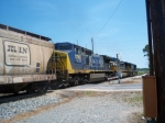 CSX 7786 & SCL/L&N West Point Route covered hopper