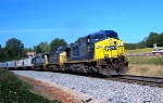 CSX 454 and consist south bound