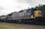 CSX 7533 in Consist ,Heading North