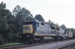 Northbound CSX 7570