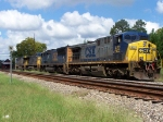 CSX 422,4727,266,691 on standby,after  coal loads drop-off