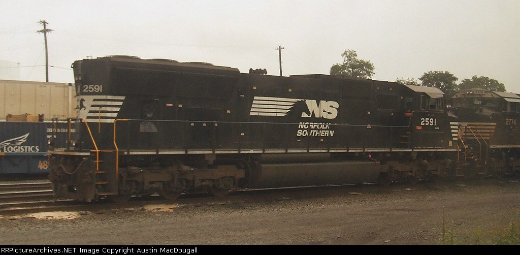 SD70M 2591
