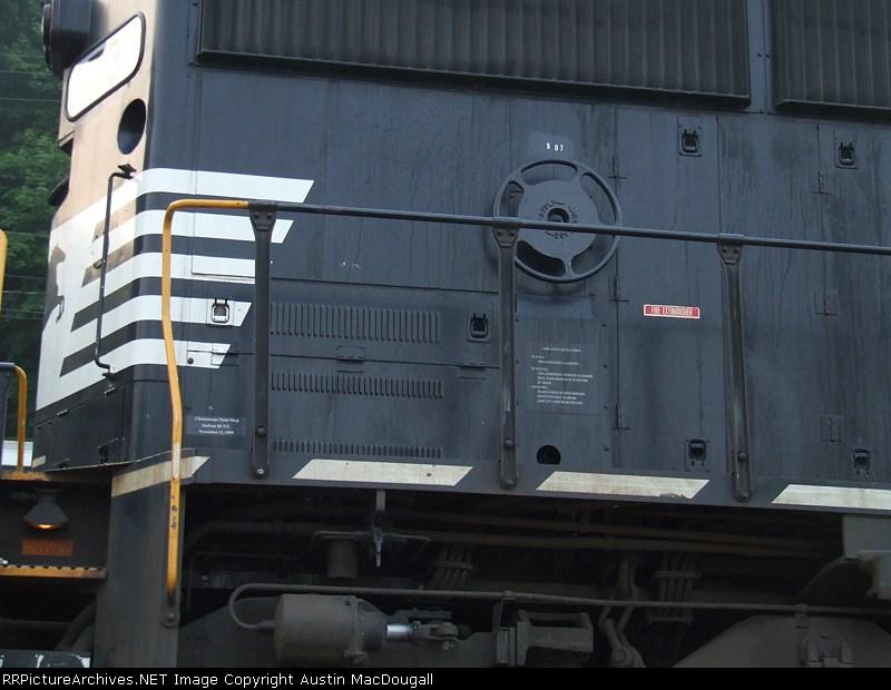6733 brakewheel detail