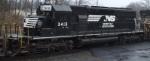 SD40-2 3413