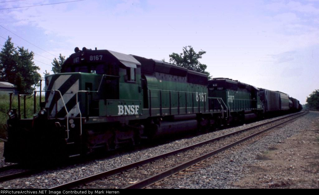 BNSF 8167 East