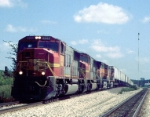 BNSF 8245 West