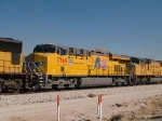 UP 7769 #2 power in a WB manifest at 1:00pm