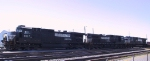NS 8817 is in a trio of GE units at Pomona Yard