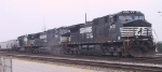 NS 9430 leads two other GE's and past Pomona Tower