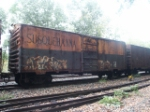 Susquehanna box car in the URHS collection