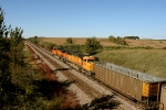 BNSF 5662, BNSF 9952 and WEPX 2609
