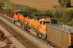 BNSF 5662 and BNSF 9952
