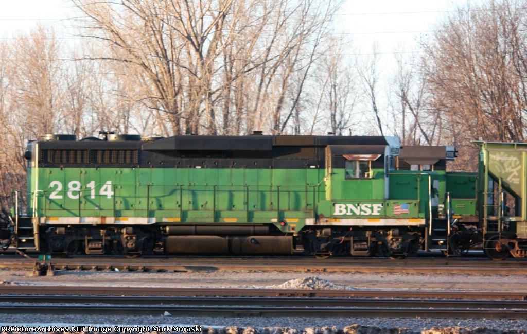 BNSF 2814