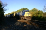 CSX 7827 leads morning eastbound