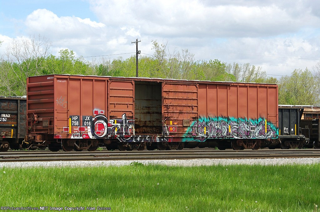 HPJX Box Car 758016