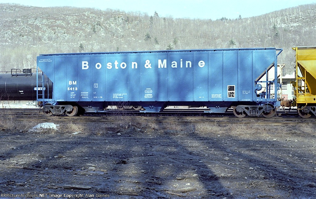 B&M Covered Hopper 5413